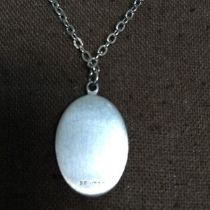 Jewelry - 3 FOR $30 Pewter Etched Owl Pendant Necklace